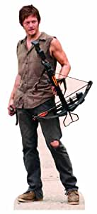 The Walking Dead - Daryl Dixon Lifesize Standup Poster