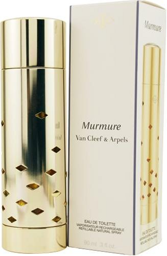Murmure By Van Cleef & Arpels For Women. Eau De Toilette Refillable Spray 3-Ounce