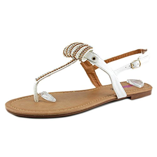 Dollymix Joanna-5 Dames Witte Slingback Sandaal