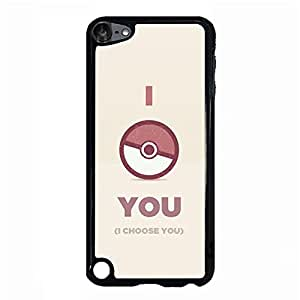 Beautiful Cartoon Design Pocket Monster Pikachu Phone Accessory Ipod Touch 5th Generation Premium Cover Case with Creative Pocket Monster Pikachu Anime Style