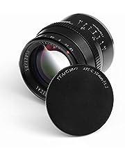 $112 » TTArtisan 50mm F1.2 APS-C Large Aperture Cameras Lens Manual Focus MF Compatible with Fuji X Mount Camera