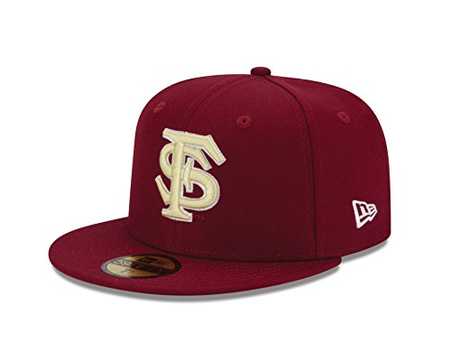 NCAA Florida State Seminoles College Team Classic 59Fifty Fitted Cap, Red, 67.8cm