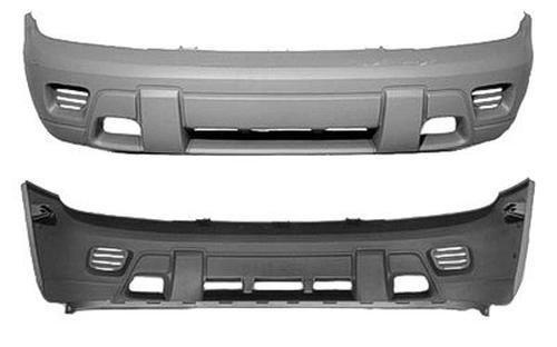 Crash Parts Plus Front Bumper Cover for 02-08 Chevrolet Trailblazer GM1000640