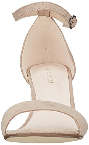 Beige Bianco Sandalia Para nougat Mujer Con Low Basic Sandal Pulsera qaFaRP1S