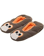 Bioworld Star Wars PORG Sherpa Slippers Size Small [6-7-8] Grey