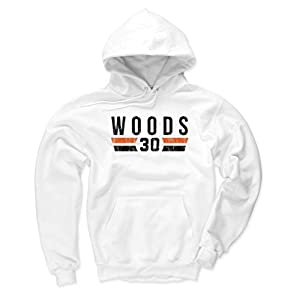 500 LEVEL's Ickey Woods Hoodie - Vintage Cincinnati Football Fan Gear - Ickey Woods Font