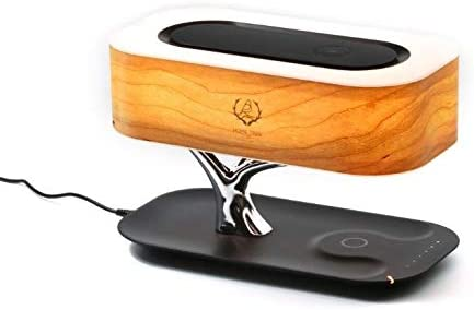 JYCDD Altavoz inalámbrico Bluetooth Tabla Cargador Lámpara ...