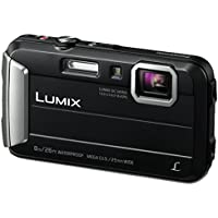 Panasonic Lumix Dmc-Ft30Eb-K 16 Mp 4X Optical Zoom Waterproof Action Camera - Black
