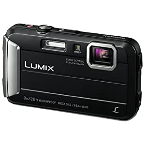 Panasonic LUMIX DMC-FT30EB-K Tough Waterproof Compact Digital Camera – Black