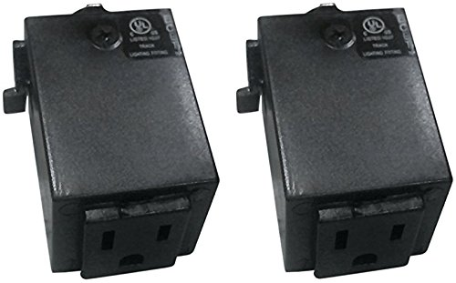 Elco Lighting EP814B EP814 Outlet Adapter (2 Pack)