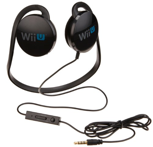 AmazonBasics Stereo Chat Headset for Wii U (Officially Licensed by Nintendo)