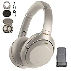 Experience the next level of silence with the Sony WH-1000XM3 Wireless Noise-Canceling Headphones. The Sony Headphones are incredibly silent and effortlessly smart, cutting out more outside sound than ever before. With incredible featu...