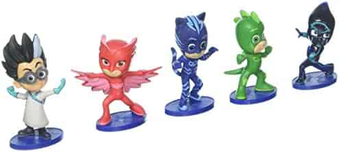 Just Play PJ Masks Collectible Figure Set (5 Pack) Styles may vary