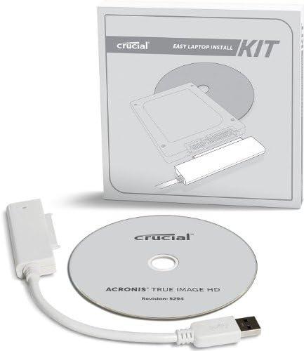 کیت لپ تاپ Crucial Upgrade برای SSD 2.5 اینچی