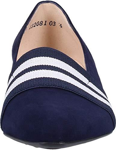 confortable De D'affaires pompe Suede des élégant Escarpins Lagos chic 22315 E largeur Classiques Peter Bureau Navy Kaiser plat Normal escarpin Femme Chaussures Fit normale g6qOnzW7