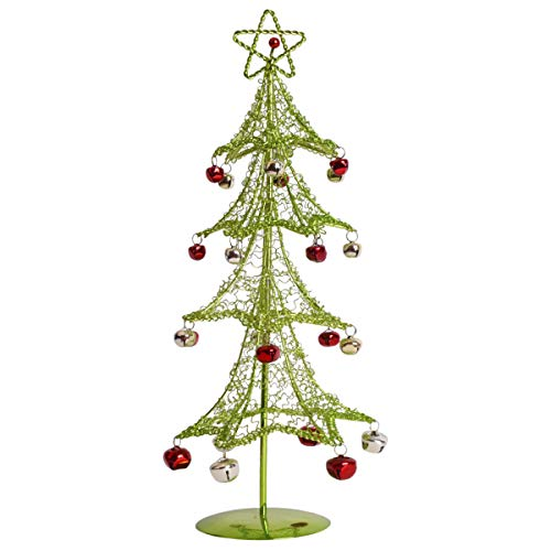 hristmas Tree with Bells Ornaments,15.4'',Green,ACT-005G ()