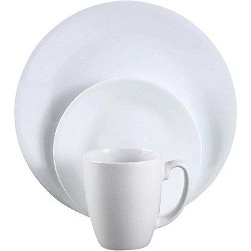 WORLD KITCHEN/EKCO 6022003 CORELLE 16-PIECE WINTER FROST WHITE DINNERWARE SET ;JM#54574-4565467/341160181 (Corelle 6022003 compare prices)