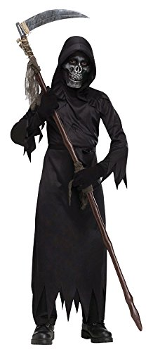 Demon Costumes For Halloween (Demon of Doom Child Costume (Large))