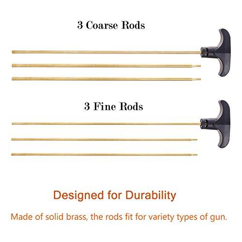 Review Gun Cleaning Kit Ohuhu Hand Gun, Rifle & Shot Gun Cleaning Kits Tool Set with Carrying Case, 58 pc