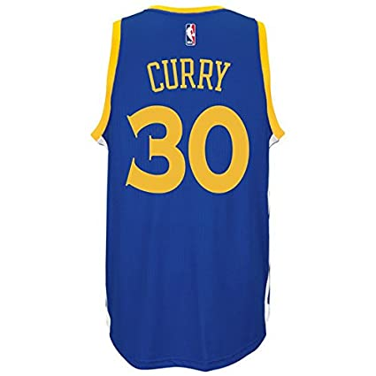 NBA Stephen Curry Golden State Warriors Adidas Réplica Jersey Camiseta, Replica-Blau: Amazon.es: Deportes y aire libre