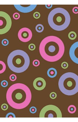 Alisa Dots (Concord Global Alisa DOTS IN DOTS BROWN 2'7