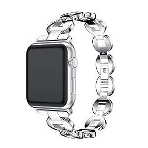 Amazon.com: Blueseao Apple Watch Band 38mm, Women/Men