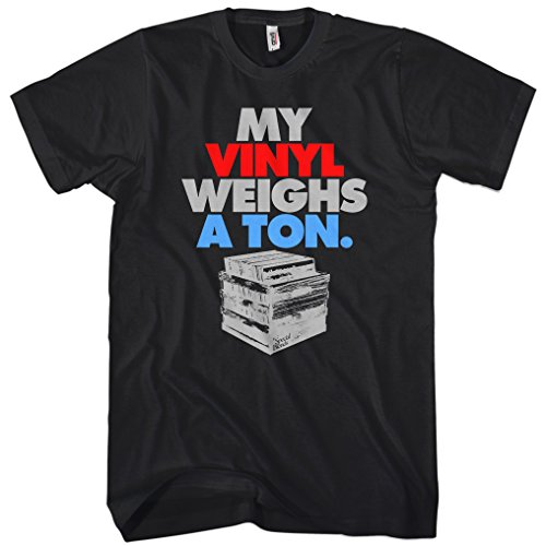 Men's My Vinyl Weighs A Ton T-shirt