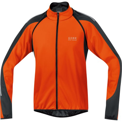 GORE BIKE WEAR Men´s Phantom 2.0 Soft Shell Jacket, JWPHAS, Blaze Orange/Black, - Shell Soft Cycling