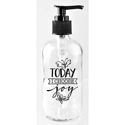 Dexsa Co., Ltd.. 'Today I Choose Joy' Glass 8-Ounce Soap ()