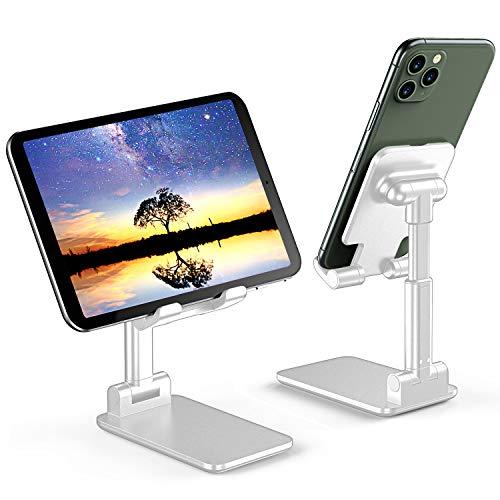 🥇 Soporte Teléfono Móvil Soporte Tableta Portátil Soporte Móvil Mesa Plegable Ajustable En Altura