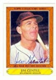 Jim Gentile autographed Baseball Card (Baltimore Orioles) 1985 Topps Collectors Series #15