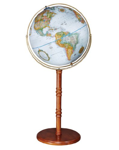 Replogle Globes Edinburgh II Globe, Blue Ocean, 16-Inch Diameter by Replogle