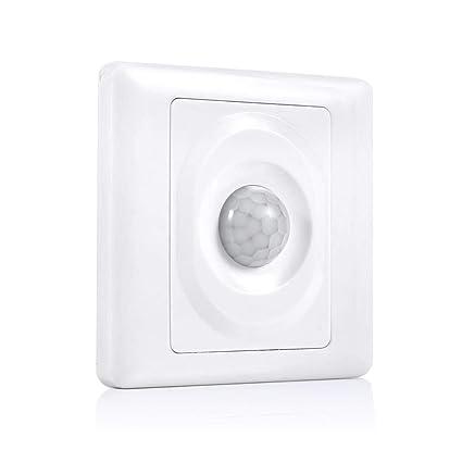 Garosa Sensor De Movimiento Interruptor Ajustable Infrarrojo Montaje ...