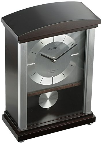 Seiko QXW440BLH Japanese Quartz Shelf Clock