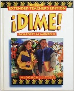 Title: Dime pasaporte al mundo 21 Extended Teachers Editi: Amazon.es: Libros