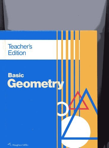 Basic Geometry - Teacher Edition -  Ray C. Jurgensen, Teacher's Edition, Hardcover