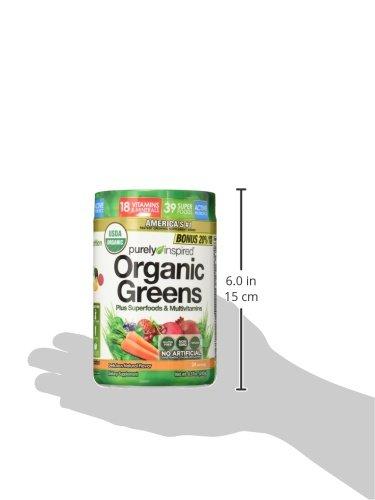 Purely Inspired Organic Greens, USDA Organic, Super Greens