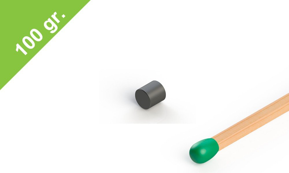 Ferrit Scheibenmagnet Ferritmagnete bis 250/°C 5x5 mm Grade Y30 Magnetscheibe