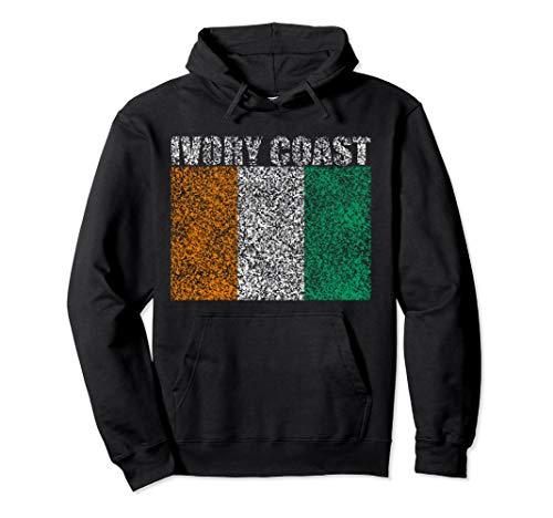 Vintage Ivory Coast Retro Pullover Hoodie -