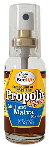 3 Pack - Spray Propolis with Honey, Mint and Malva - 1 Fl Oz (30 Ml)