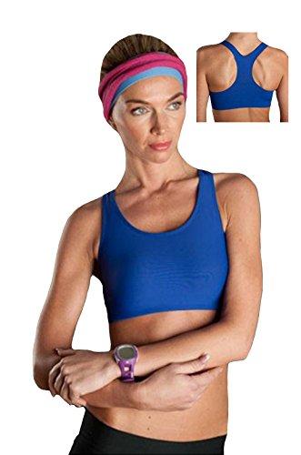 Rosme - Sujetador deportivo - para mujer Azul azul medium