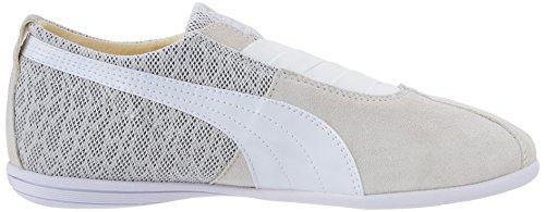 Puma Eskiva Low Textured White