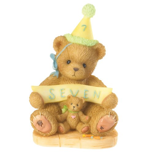 Cherished Teddies Age 7 Sign Says You