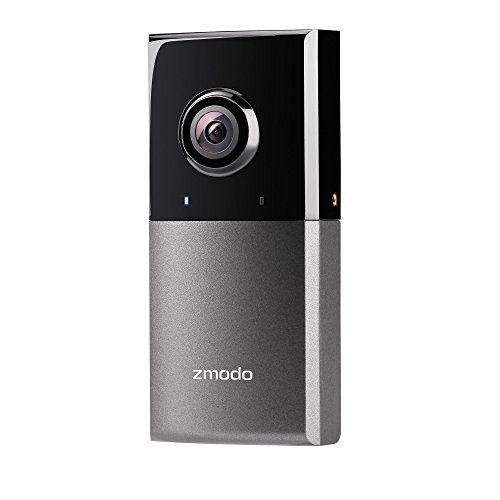 Zmodo Sight 180 Outdoor Wireless Security Camera, 180 Degree Viewing Angle Full HD 1080p Resolution - Cloud Service Available