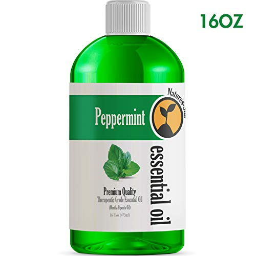 Bulk Size Peppermint Essential Oil (16 Ounce Bottle) - Therapeutic Grade Essential Oil - 16 Fl Oz - Amazon Vine