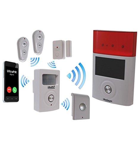 3G UltraPIR GSM Delux Alarm Kit (£12 Roaming SIM Please)