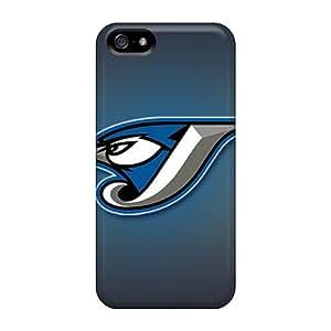 AaronBlanchette Iphone 5/5s Bumper Hard Phone Case Provide Private Custom Stylish Toronto Blue Jays Pattern [pid11211KEUl]