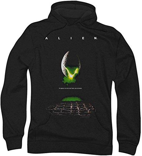 Hoodie: Alien - Poster Pullover Hoodie Size M