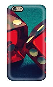 Excellent Design Red Dice Phone Case For Iphone 6 Premium Tpu Case
