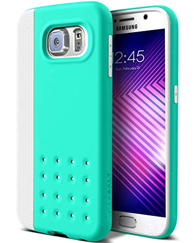 for Galaxy S6 Case (2015) - Dual-Layer - Turquoise Mint ()